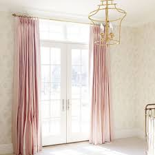 Sheer Pink Curtains Beautiful Pink Grommet Curtains Decorating With Romantic Light
