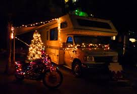 rv christmas decoration contest winner paradise by the sea beach