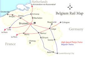 Blank Map Of Germany by How To Get Around Belgium Like A Local Endearing Enchanting Map Of
