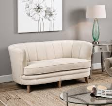 Family Room With Sectional Sofa Furniture Curved Sectional Sofa With Round Glass Table And Wall