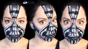 Batman Halloween Makeup by Bane From The Dark Knight Rises Makeup Tutorial By Eyedolizemakeup