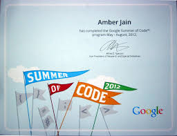 Resume Writing Certification Online by Amberj Google Summer Of Code Certificate Jpg