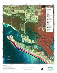 Map Fort Myers Florida by Fort Myers Beach Nw Ne Coastal Classification Atlas