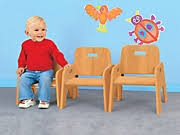 Toddler Wooden Chair Wooden Chairs At Lakeshore Learning