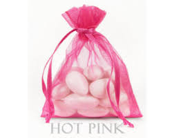 pink organza bags fuchsia organza bags etsy