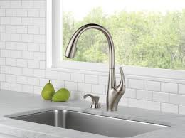 delta hands free kitchen faucet deluca kitchen collection delta faucet