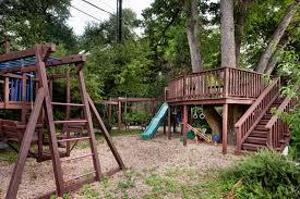 Wood Backyard Playsets by Backyard Playsets Kids Contemporary With Backyard Playhouse Corner