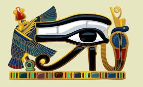 eye of horus graphics stock illustration illustration of history
