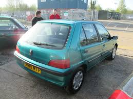peugeot green used green peugeot 106 for sale rac cars