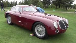 vintage alfa romeo 6c 1939 alfa romeo 6c 2500 tipo 256 berlinetta aerodinamico touring