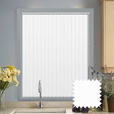 to measure vertical blinds in pvc blackout fabric black out