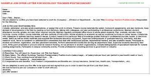 order sociology cover letter