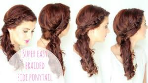 braid hair styles pictures simple side braided hairstyle youtube