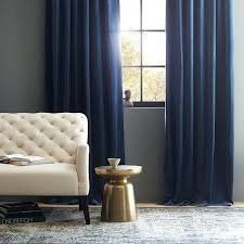 Easy Blackout Curtains Navy Blue Curtains Supremegroup Co