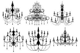 Black Chandelier Clip Art Chandelier Clipart Photos Graphics Fonts Themes Templates