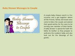 baby shower wishes and messages
