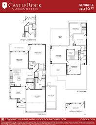 seminole silver home plan by castlerock communities in build on floor plans