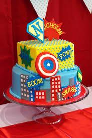 vintage super hero first birthday