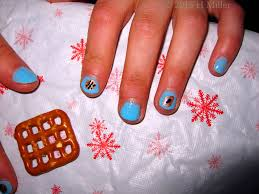 robin moses nail art purple flower nail art cute sport nails