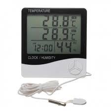 thermometre chambre hygromètre chambre de culture