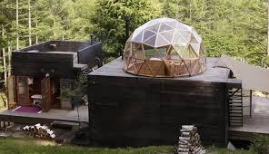 mountain geodesic dome refuge is a u0027platform for living u0027 treehugger