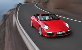 2013 porsche 911 carrera s cabriolet test u2013 review u2013 car and driver