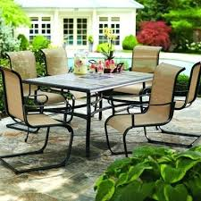 dining chair outdoor patio dining set with umbrella outdoor
