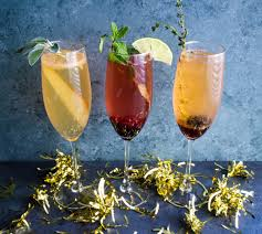 herbal champagne cocktails u2013 what do you crave