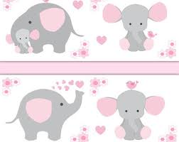 pink and grey elephant baby shower pink grey elephant etsy