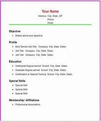 basic resume template how to make a resume template pointrobertsvacationrentals
