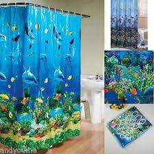 Sea Themed Shower Curtains Shower Curtain Hooks Ebay