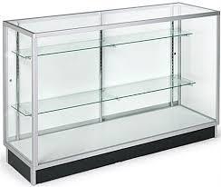 glass cabinet glass cabinet 5 foot display counter laminate door