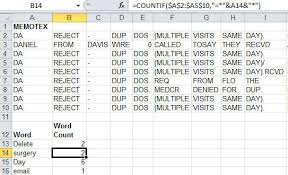 Count Words In Excel Counting Specific Words With Countif Qimacros Word Count