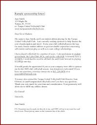 sample corporate sponsorship letter corporate user manual template