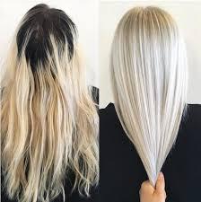 Frisuren Lange Haare B O by 10 Haarfarbe Ideen Platinblond Haar 2017 Frisuren