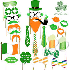 amazon com st patrick u0027s photo booth props attached no diy