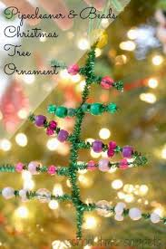 pipecleaner and tree ornament school time snippets