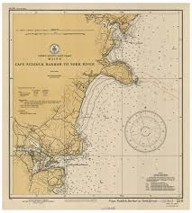 Map Of Portland Me by Historical Nautical Charts Of Maine Portsmouth Nh To Portland