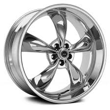 Black Rims For Mustang American Racing Ar605m Torq Thrust M Wheels Chrome Rims