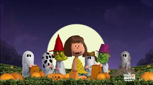 halloween snoopy background movie the peanut gang wallpaper