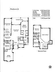 modern 2 story house floor plans modern house mansion floor plans from floorplans om plan flfpw76975 2 story