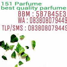 Parfum Refill Palembang daftar nama parfum yang tersedia di toko 151 parfume shop