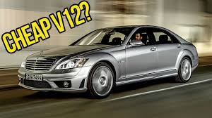 you can buy a crazy 500 hp v12 mercedes benz for the price of a