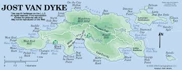 map of the bvi jost map jost islands