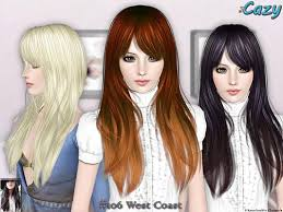 sims 3 custom content hair cute hair by cazy custom content for sims 3 http www