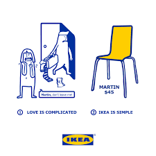 look ikea simplifies your complicated love problems marketing