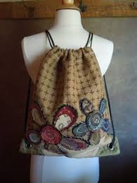 made to order drawstring back pack cinch sack recycled