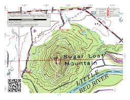 Cripple Creek Colorado Map by Arkansas Ozarks Trails The Compulsive Hiker