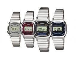 casio donna piccolo orologio casio vintage la670w donna acciaio chrono classico