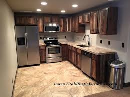 rustic barn wood kitchen cabinets bradley s furniture etc customizable rustic furniture